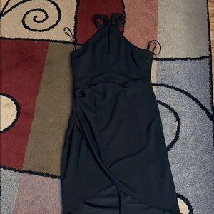 Party black dress 14 NWOT